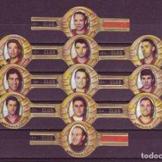 Vitolas de colección: CLUB, BERINGEN F.C. (FUTBOLISTAS) 11 VITOLAS, SERIE COMPLETA.. Lote 172879459