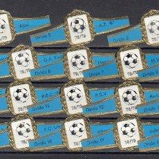 Vitolas de colección: DRIDO, FUTBOL HOLANDA, CAMPEONATO 1978-79, 18 VITOLAS, SERIE COMPLETA.. Lote 173206097