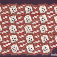 Vitolas de colección: DRIDO, MUNDIAL DE FUTBOL 1974, SERIE 1ª, 24 VITOLAS, SERIE COMPLETA.. Lote 173232420