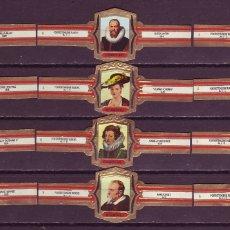 Vitolas de colección: ELISABETH BAS, RUBENS, FRAGMENTOS, SERIE 2ª, 12 VITOLAS, SERIE COMPLETA.. Lote 173386285