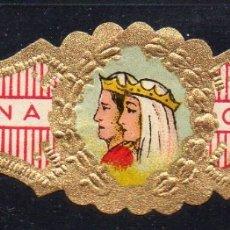 Vitolas de colección: VITOLA CLASICA: 113004, CASA REAL ESPAÑOLA, REYES CATOLICOS, CORONA.. Lote 173961970