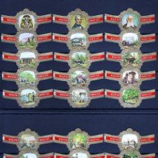 Vitolas de colección: MERCATOR, SOCIEDAD ZOOLOGICA DE AMBERES, 24 VITOLAS, SERIE COMPLETA.. Lote 174065238