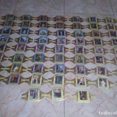 Vitolas de colección: LOTE VITOLAS ALVARO CUADROS PINTORES ESPAÑOLES ZURBARAN RIBERA GOYA VELAZQUEZ MURILLO . Lote 174273138