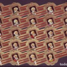 Vitolas de colección: RUBENS, PAPAS, SERIE 3ª, ROJO, 24 VITOLAS, SERIE COMPLETA.. Lote 176083977