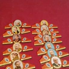 Vitolas de colección: 13 VITOLAS PUROS ÁLVARO SERIE MÚSICOS. Lote 177517599