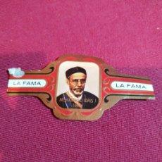 Vitolas de colección: VITOLA PUROS LA FAMA. Lote 177678305
