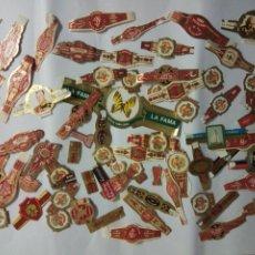 Vitolas de colección: LOTE DE 73 VITOLAS DE PUROS. Lote 178671602