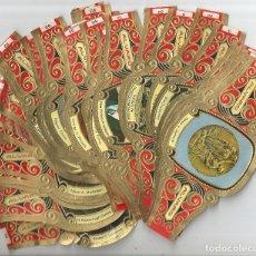 Vitolas de colección: LOTE MAS DE 150 VITOLAS, ALVARO, CAPOTE, LA FAMA, NEREIDA ... Lote 179204960