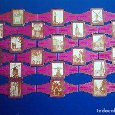 Vitolas de colección: MONACO, TURISTICA, FUXIA, 20 VITOLAS, SERIE COMPLETA.. Lote 180161756