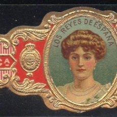 Vitolas de colección: VITOLA CLASICA: RES052, CASA REAL ESPAÑOLA, VICTORIA EUGENIA, CALIXTO LOPEZ, CUBA. Lote 180341875