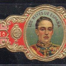 Vitolas de colección: VITOLA CLASICA: RES054, CASA REAL ESPAÑOLA, ALFONSO XIII, CALIXTO LOPEZ, CUBA. Lote 180341891
