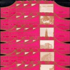 Vitolas de colección: MURILLO, EINDHOVEN, GRAN FORMATO, FUXIA, 24 VITOLINAS, SERIE COMPLETA.. Lote 180850540