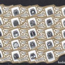 Vitolas de colección: MURILLO, EMBLEMAS DE LA MARINA HOLANDESA, BLANCO, 24 VITOLAS, SERIE COMPLETA.. Lote 180850608