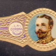 Vitolas de colección: VITOLA CLASICA: RIN002, CASA REAL INGLESA, JORGE V, LA CORONA, CUBA. Lote 181570222