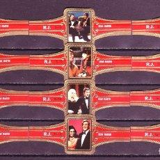Vitolas de colección: ROKENDE JAN, DEAN MARTIN, 12 VITOLAS, SERIE COMPLETA.. Lote 182064067