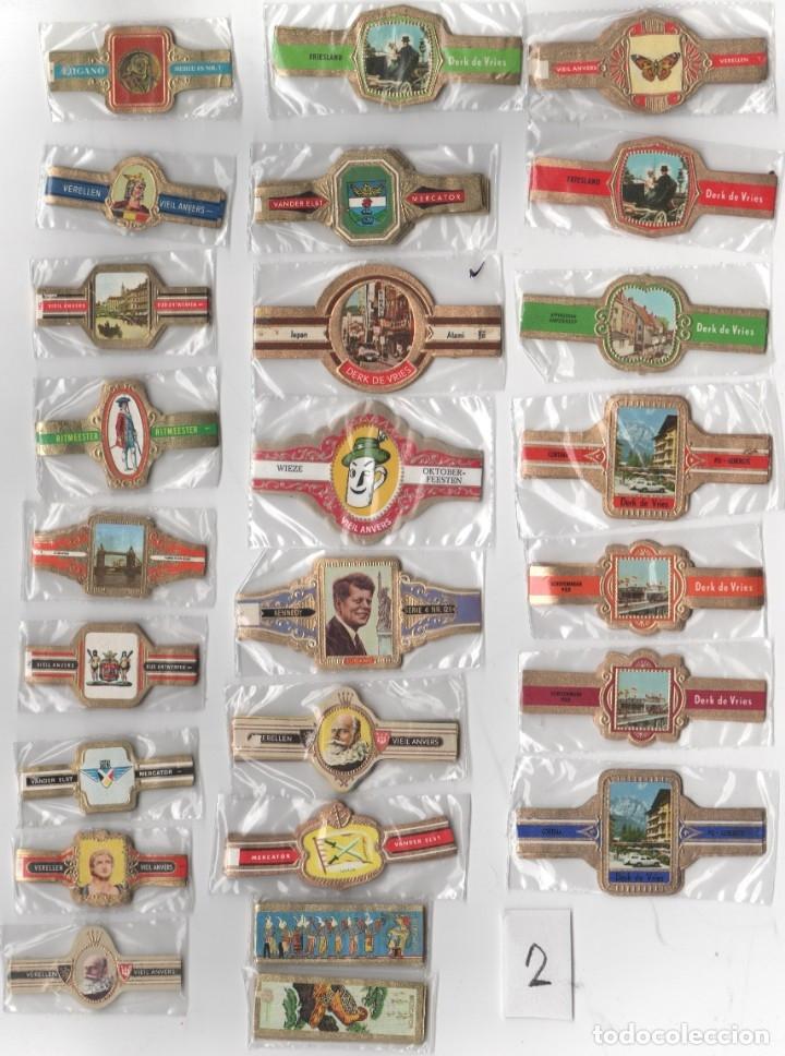 OFERTON,LOTE 2, 25 SERIES COMPLETAS Y DIFERENTES DE VITOLAS PROCEDENTES DE LOS PUROS Y COLECCIONES (Coleccionismo - Objetos para Fumar - Vitolas)