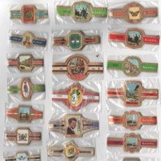 Vitolas de colección: OFERTON,LOTE 2, 25 SERIES COMPLETAS Y DIFERENTES DE VITOLAS PROCEDENTES DE LOS PUROS Y COLECCIONES. Lote 182842290