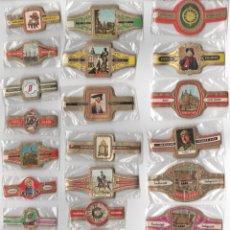 Vitolas de colección: OFERTON,LOTE 5, 25 SERIES COMPLETAS Y DIFERENTES DE VITOLAS PROCEDENTES DE LOS PUROS Y COLECCIONES. Lote 182843882
