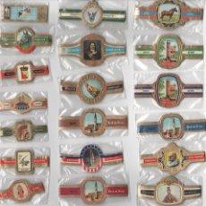 Vitolas de colección: OFERTON,LOTE 6, 25 SERIES COMPLETAS Y DIFERENTES DE VITOLAS PROCEDENTES DE LOS PUROS Y COLECCIONES. Lote 182843927