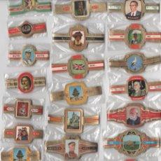 Vitolas de colección: OFERTON,LOTE 9, 25 SERIES COMPLETAS Y DIFERENTES DE VITOLAS PROCEDENTES DE LOS PUROS Y COLECCIONES. Lote 182844371