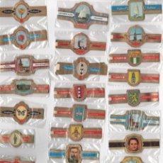 Vitolas de colección: OFERTON,LOTE 14, 25 SERIES COMPLETAS Y DIFERENTES DE VITOLAS PROCEDENTES DE LOS PUROS Y COLECCIONES. Lote 182844838