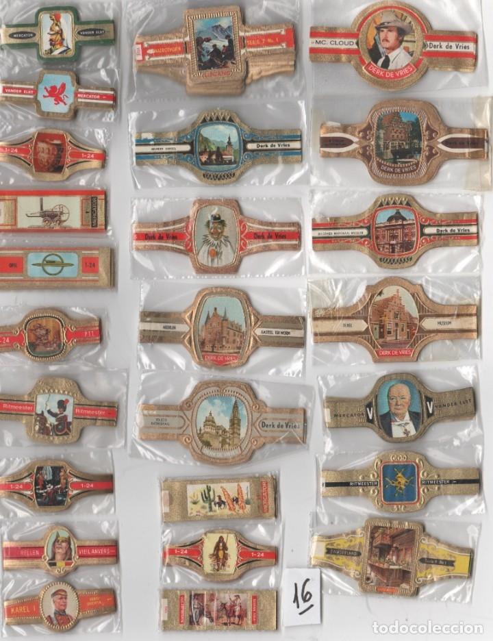 OFERTON,LOTE 16, 25 SERIES COMPLETAS Y DIFERENTES DE VITOLAS PROCEDENTES DE LOS PUROS Y COLECCIONES (Coleccionismo - Objetos para Fumar - Vitolas)