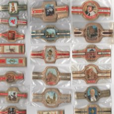 Vitolas de colección: OFERTON,LOTE 16, 25 SERIES COMPLETAS Y DIFERENTES DE VITOLAS PROCEDENTES DE LOS PUROS Y COLECCIONES. Lote 182845066