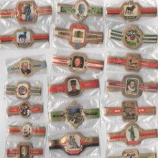 Vitolas de colección: OFERTON,LOTE 17, 25 SERIES COMPLETAS Y DIFERENTES DE VITOLAS PROCEDENTES DE LOS PUROS Y COLECCIONES. Lote 182845153