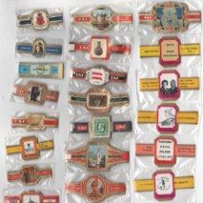 Vitolas de colección: OFERTON,LOTE 23, 25 SERIES COMPLETAS Y DIFERENTES DE VITOLAS PROCEDENTES DE LOS PUROS Y COLECCIONES. Lote 182845677