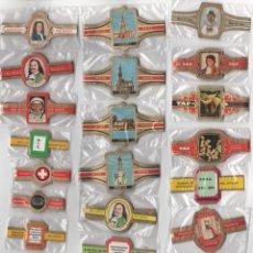 Vitolas de colección: OFERTON,LOTE 25, 25 SERIES COMPLETAS Y DIFERENTES DE VITOLAS PROCEDENTES DE LOS PUROS Y COLECCIONES. Lote 182845805