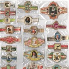 Vitolas de colección: OFERTON,LOTE 31, 25 SERIES COMPLETAS Y DIFERENTES DE VITOLAS PROCEDENTES DE LOS PUROS Y COLECCIONES. Lote 182846232