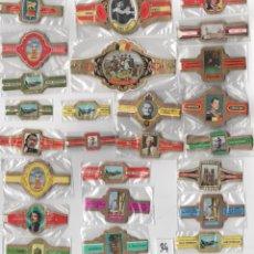 Vitolas de colección: OFERTON,LOTE 34, 25 SERIES COMPLETAS Y DIFERENTES DE VITOLAS PROCEDENTES DE LOS PUROS Y COLECCIONES. Lote 182846437