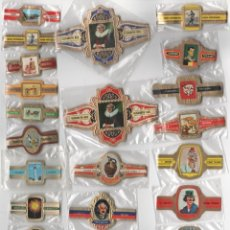 Vitolas de colección: OFERTON,LOTE 36, 25 SERIES COMPLETAS Y DIFERENTES DE VITOLAS PROCEDENTES DE LOS PUROS Y COLECCIONES. Lote 182846566