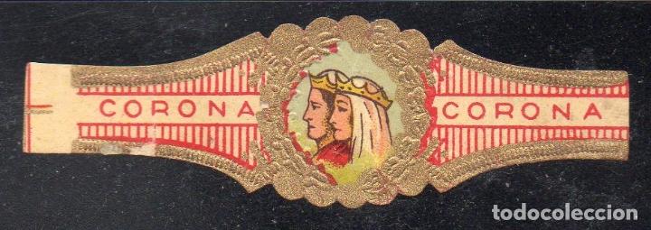 VITOLA CLASICA: 015020, CASA REAL ESPAÑOLA, REYES CATOLICOS, CORONA. (Coleccionismo - Objetos para Fumar - Vitolas)