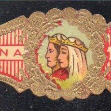 Vitolas de colección: VITOLA CLASICA: 015020, CASA REAL ESPAÑOLA, REYES CATOLICOS, CORONA.. Lote 183234443