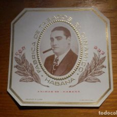 Vitolas de colección: HABILITACION - FÁBRICA DE TABACOS EL DINÁMICO - HABANA - PUROS HABANOS. Lote 183614333