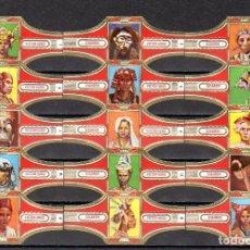 Vitolas de colección: VICTOR HUGO, INDONESIA, ROJO, 15 VITOLAS, SERIE COMPLETA.. Lote 184001736