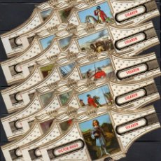 Vitolas de colección: VICTOR HUGO, NAPOLEON, SERIE 16, GRAN FORMATO, 15 VITOLINAS, SERIE COMPLETA.. Lote 184002183