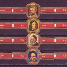 Vitolas de colección: ROKENDE JAN, PINTORES, SERIE 2ª, 12 VITOLAS, SERIE COMPLETA.. Lote 184007605