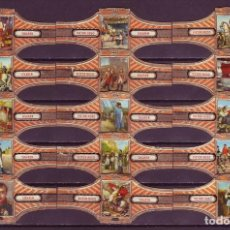Vitolas de colección: VICTOR HUGO, NAPOLEON, SERIE 25, 15 VITOLAS, SERIE COMPLETA.. Lote 184007798