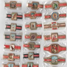 Vitolas de colección: OFERTON,LOTE 20, 25 SERIES COMPLETAS Y DIFERENTES DE VITOLAS PROCEDENTES DE LOS PUROS Y COLECCIONES. Lote 184097286