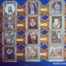 Vitolas de colección: ALVARO, EL GRECO, SERIE 2ª, 12 VITOLINAS, SERIE COMPLETA.. Lote 184528773