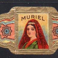Vitolas de colección: VITOLA CLASICA: 014003, TEMA MUJERES, MURIEL. Lote 186629827