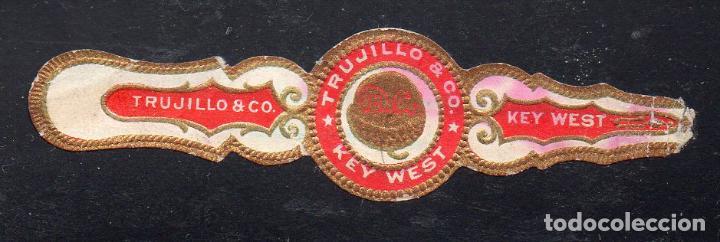 VITOLA CLASICA: 014010, TEMA FRUTOS, TRUJILLO & CO. (Coleccionismo - Objetos para Fumar - Vitolas)