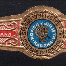 Vitolas de colección: VITOLA CLASICA: 014015, TEMA FRUTOS, ROMEO Y JULIETA, CUBA. Lote 186648203