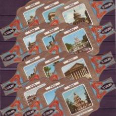 Vitolas de colección: EL GUAJIRO, PARIS, 12 VITOLINAS, SERIE COMPLETA.. Lote 189203230