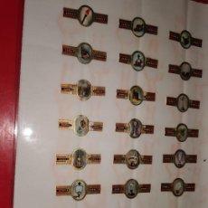 Vitolas de colección: 24 VITOLAS KARELI SERIE VERLICHTING-ECLAIRAGE MODERNE HANGLAMP (LÁMPARAS MODERNAS). Lote 189314686