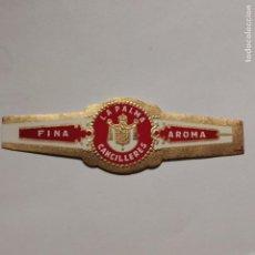 Vitolas de colección: VITOLA CLASICA • CANCILLERES •. Lote 189702712