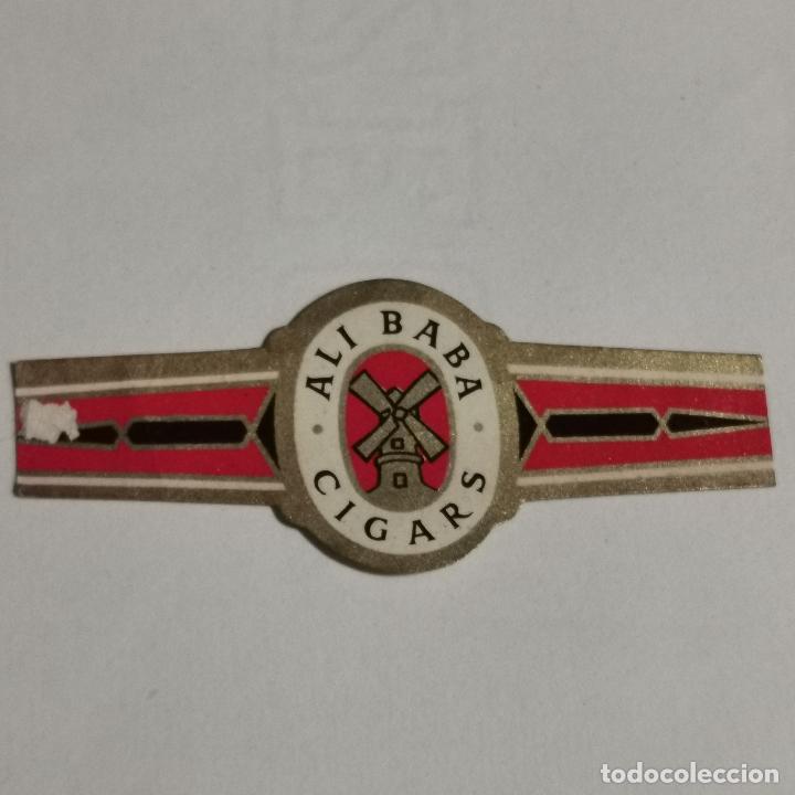 VITOLA ALI BABA CIGARS (Coleccionismo - Objetos para Fumar - Vitolas)