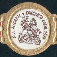 Vitolas de colección: PEÑAMIL. VITOLA CLÁSICA CONMEMORAT. II CONC.LOCAL. GRUPO VIT. DE ALICANTE. AÑO 1.994.. Lote 189755333